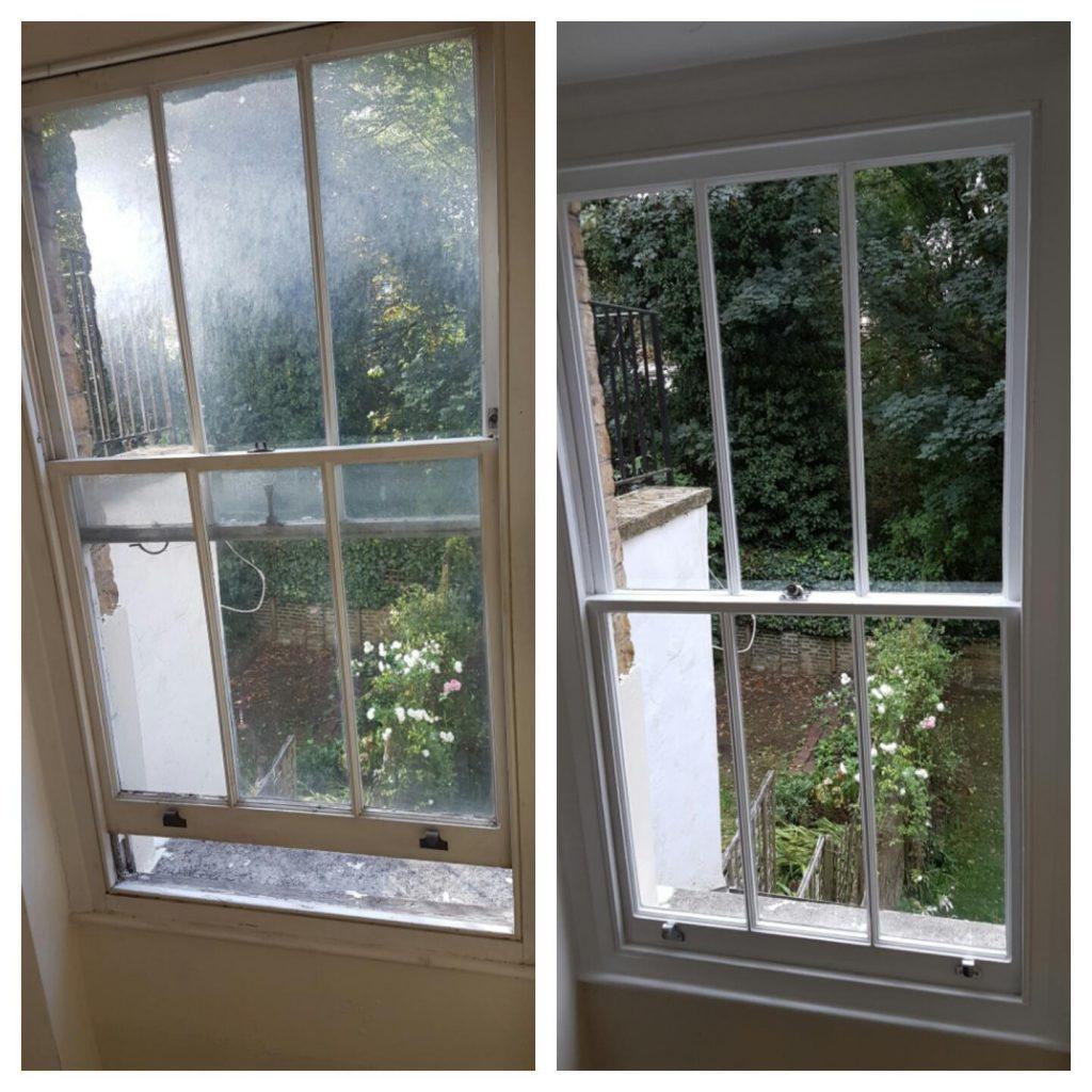 Sash window repair london for Window sash replacement